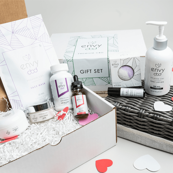 Rose Gold Edition Gift Set | Envy CBD