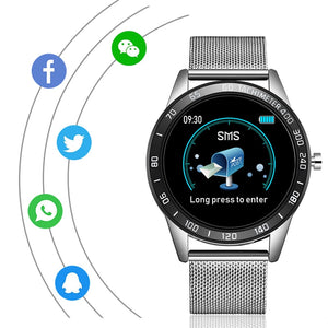 Time Smartwatch IOS Android Klassiek