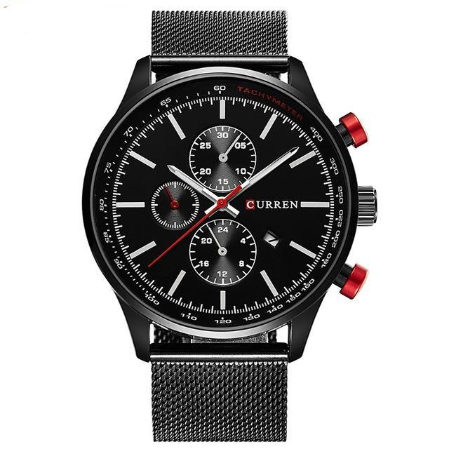 Curren Business Datum Masculino Mash Band