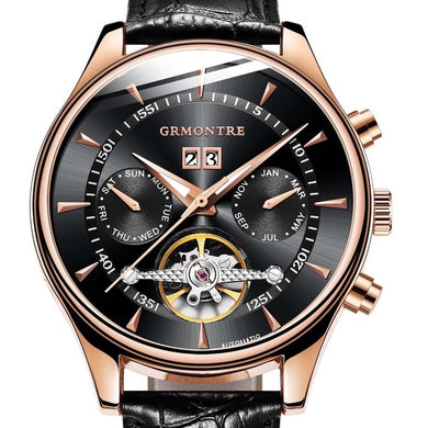 Skeleton Tourbillon Automaat
