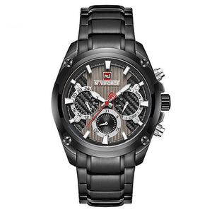 Naviforce Stainless Steel Force Quartz