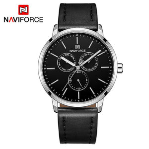 Naviforce Leerband Casual Farma Quartz