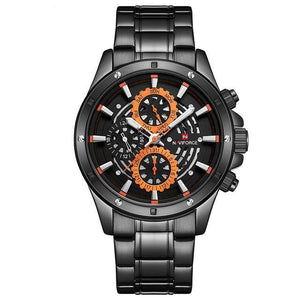 Naviforce RVS Masculino Quartz
