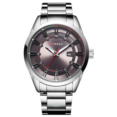 Curren Stainless Steel Relogio Quartz