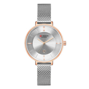 Curren Mash Band Elegant Quartz