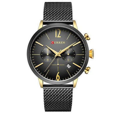 Curren Business Chrono Mash Band Masculino