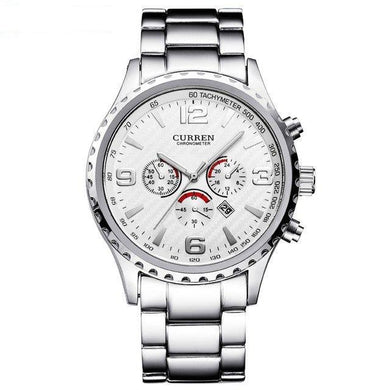 Curren Stainless Steel Montre Home