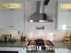 Mother of Pearl Natural Sea Shell Mosaic Tiles