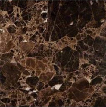 Dark Emperador Premium Spain Polished Marble Mosaic Tiles 1 Square Feet (12x12x3/8 INCH TILE)