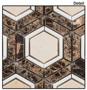 Glazzio Tiles Ancient Bronze SKLT683