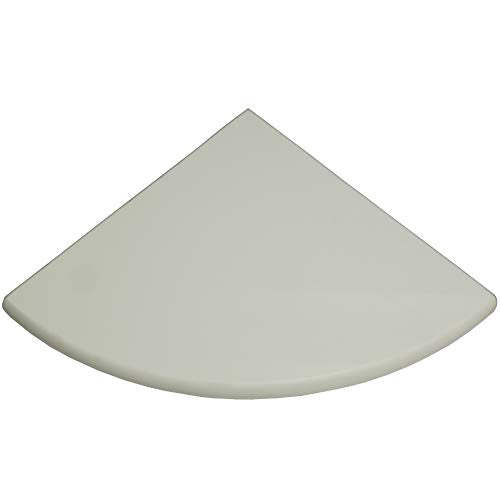 Premium Quality Thassos White Marble Corner Shelf Polished 9'' By Vogue Tile - Free Shipping