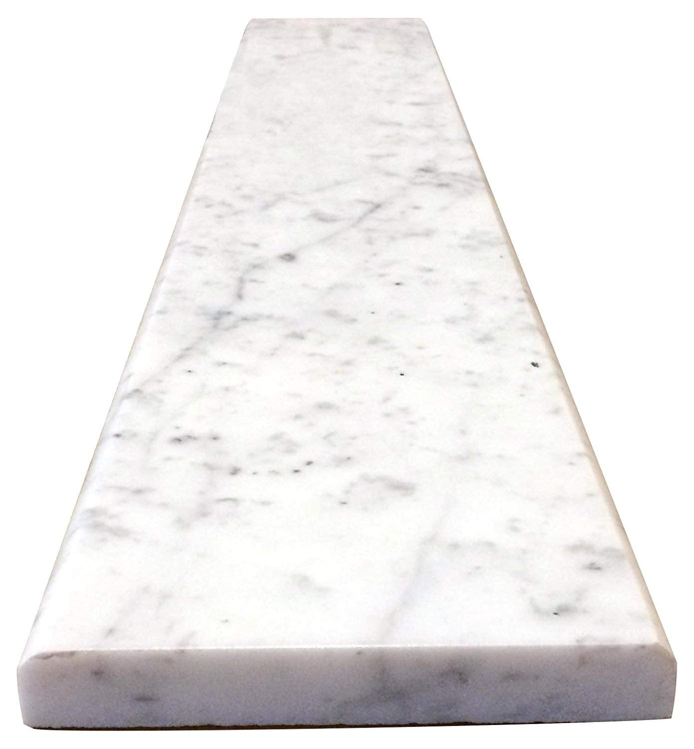 White Carrara Marble Threshold (Marble Saddle)- Polished for Bathroom and Kitchen Walls Kitchen