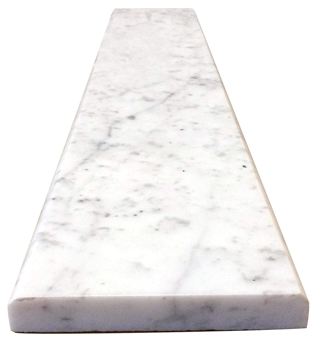 Carrara Marble Threshold (Marble Saddle)-  Polished for Bathroom and Kitchen Walls Kitchen--Free Shipping