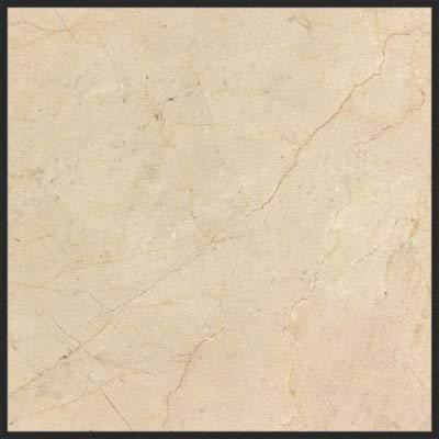 Crema Marfil  12 in. x 12 in. - Premium Polished Marble Floor and Wall Tile