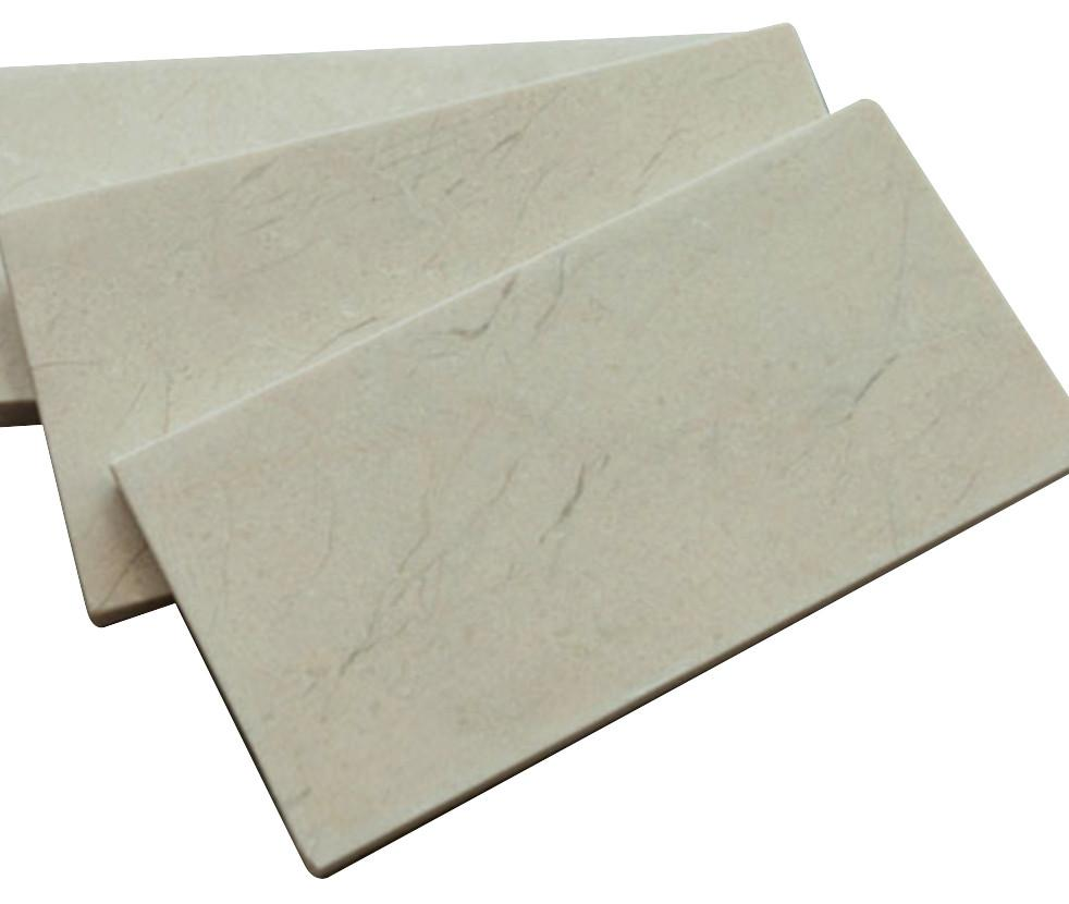 3x6 Honed Crema Marfil Stone Tile Mosaics for Bathroom and Kitchen Walls Kitchen Backsplashes