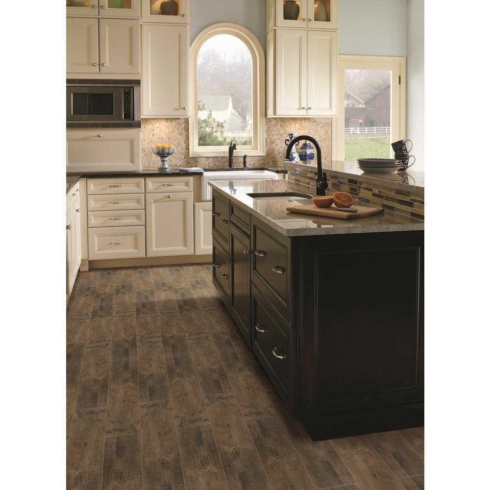 MS International Barnwood Cognac 8 in. x 36 in. Glazed Porcelain Floor and Wall Tile (20 cases / 280 sq. ft. / pallet)