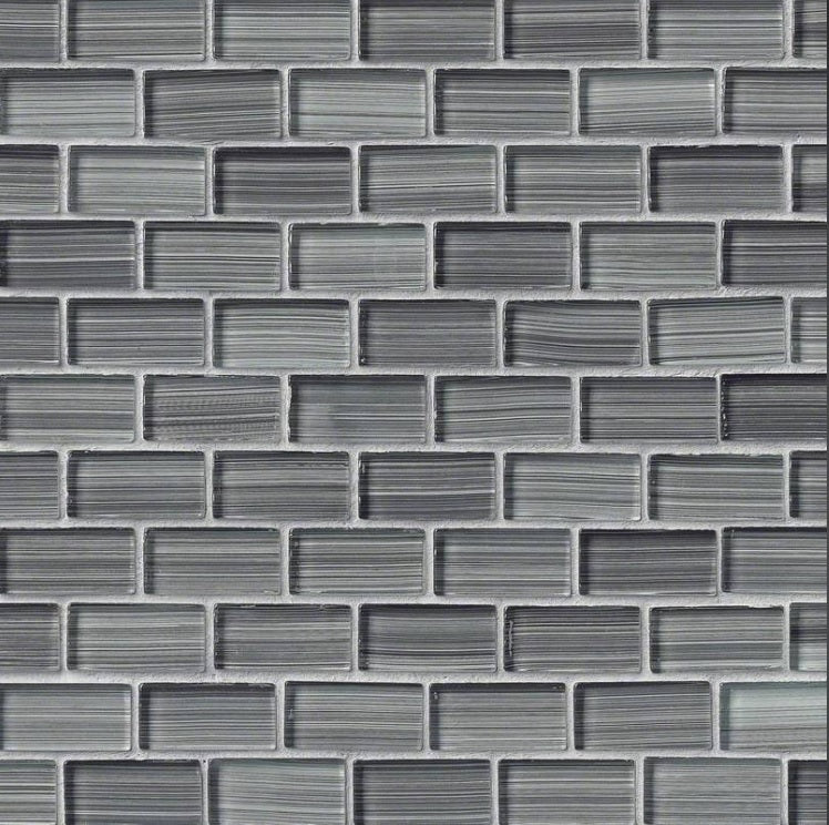MS International GLSB-WG8MM Mesh-Mounted Tile 12 x 12 in. x 8 mm Mosaic