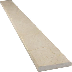 Vogue Tile Crema Marfil Beige Marble Threshold (Marble Saddle) - Polished -Free Shipping