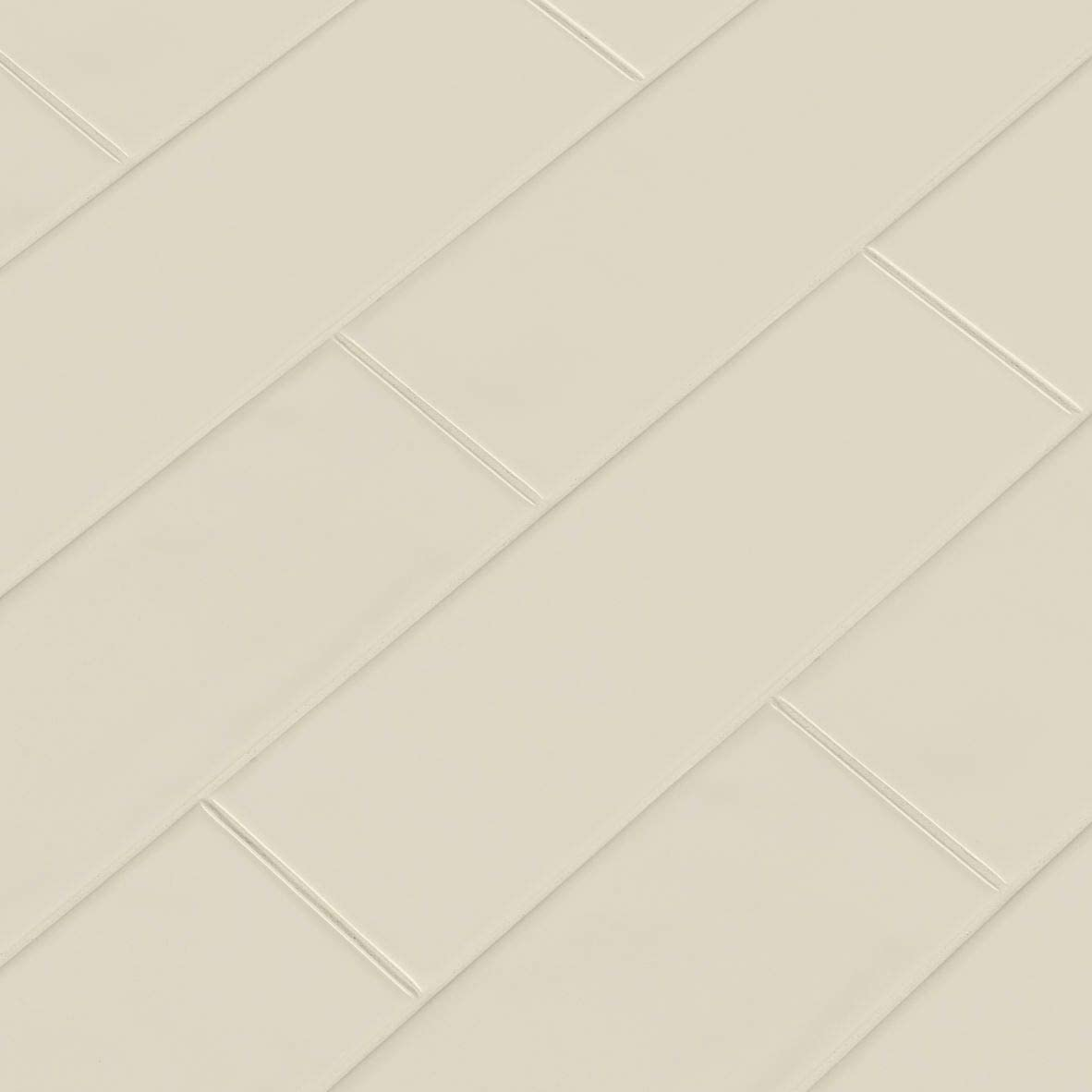 "MSI Urbano 4"" X 12"" Cream Glossy  Ceramic Subway Tile"