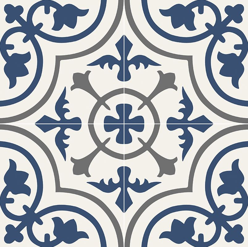 MS International Zanzibar  8 in. x 8 in. Glazed Porcelain Floor and Wall Tile