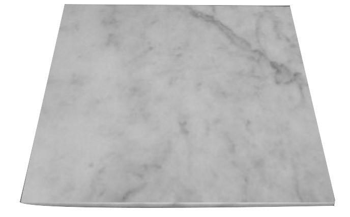 Carrara Marble Italian White Bianco Carrera 18x18 Marble Tile Polished