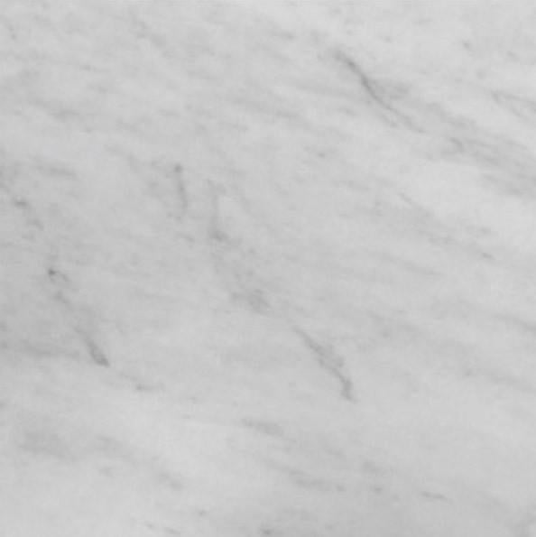 Carrara Marble Italian White Bianco Carrera 18x18 Marble Tile Honed - Free Shipping