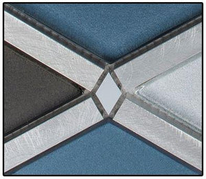 GZT Tiles Cerulean Gaze (Glass) FGS221