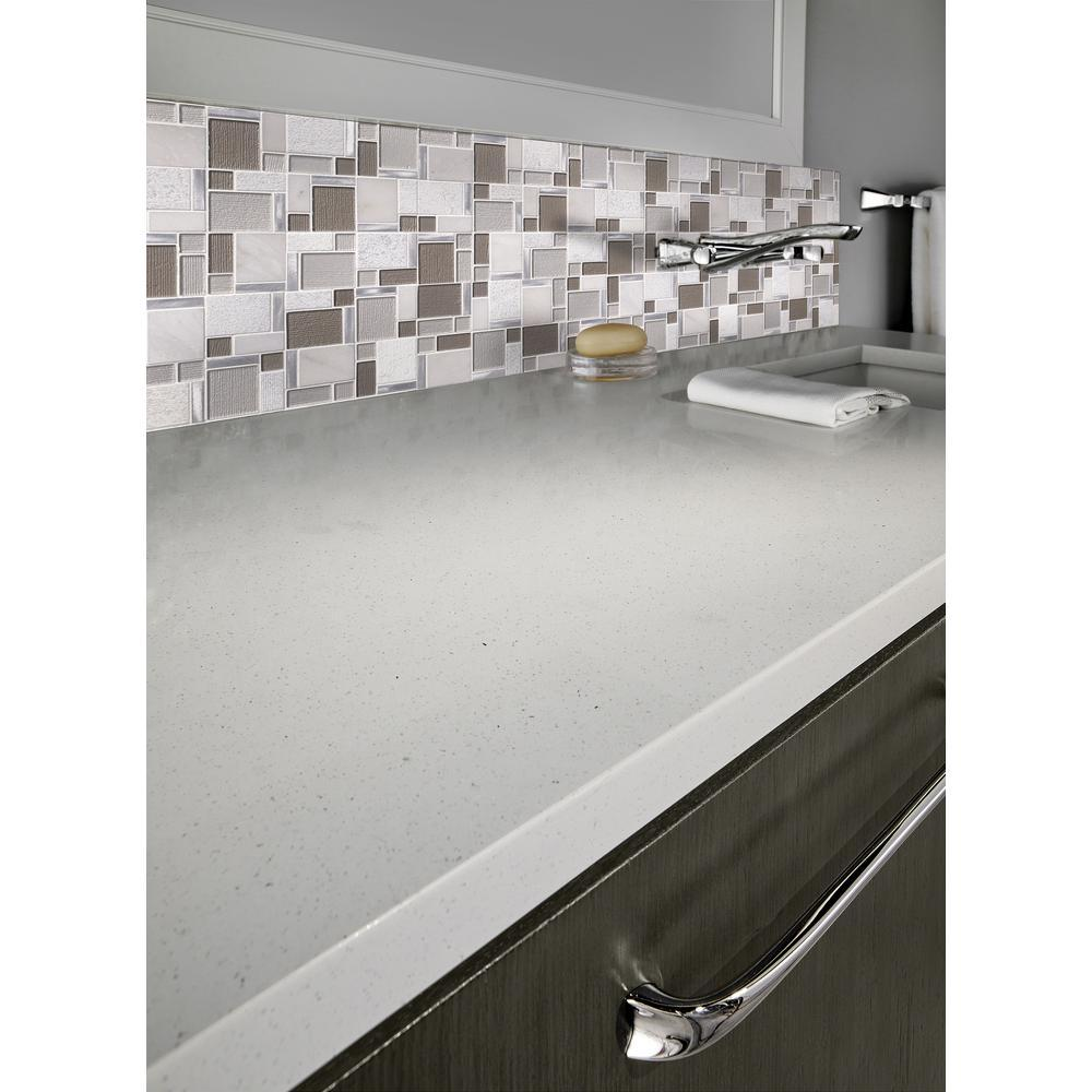 Magica 12 in. x 12 in. x 6mm Glass and Stone Mesh-Mounted Mosaic Tile (15 sq. ft. / case)