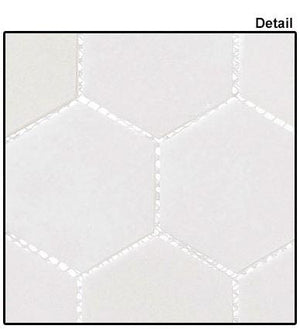 "Glazzio Tiles Light Canopy (2"" Hex) CLNL276"