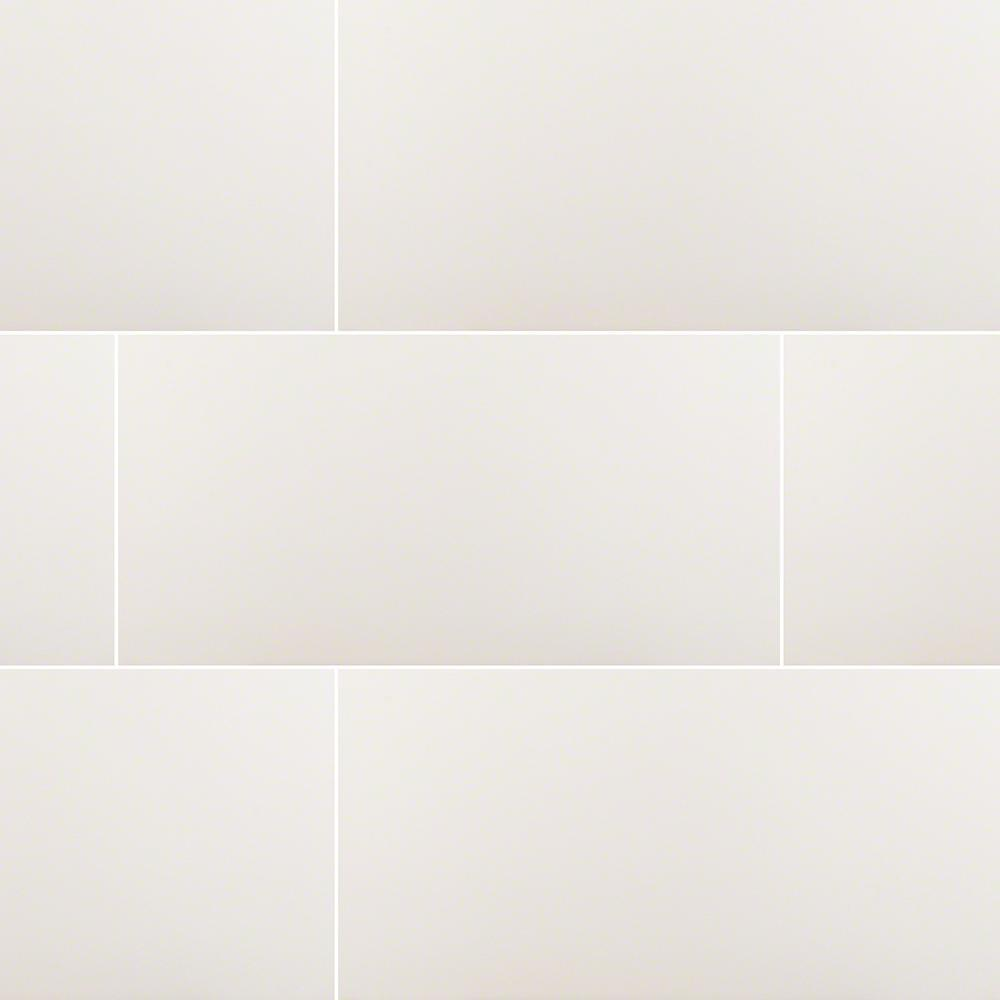 MS International Carrara 30 in. x 30 in. Glazed Polished Porcelain Floor  and Wall Tile (30 sq. ft. / case)