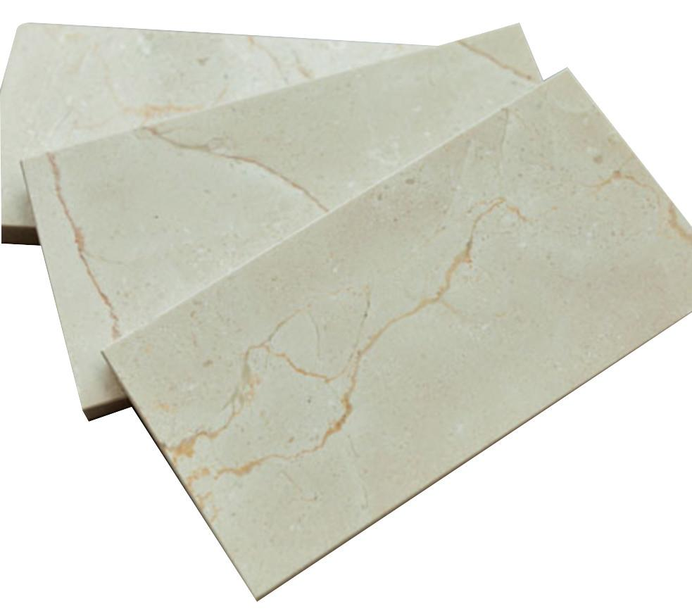 "3x6"" Polished Crema Marfil Stone Tile Mosaics for Bathroom and Kitchen Walls Kitchen Backsplashes (Free Shipping)"