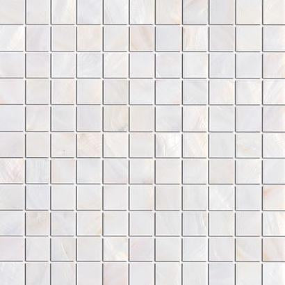 Pure White Mother of Pearl Mosaic Tiles