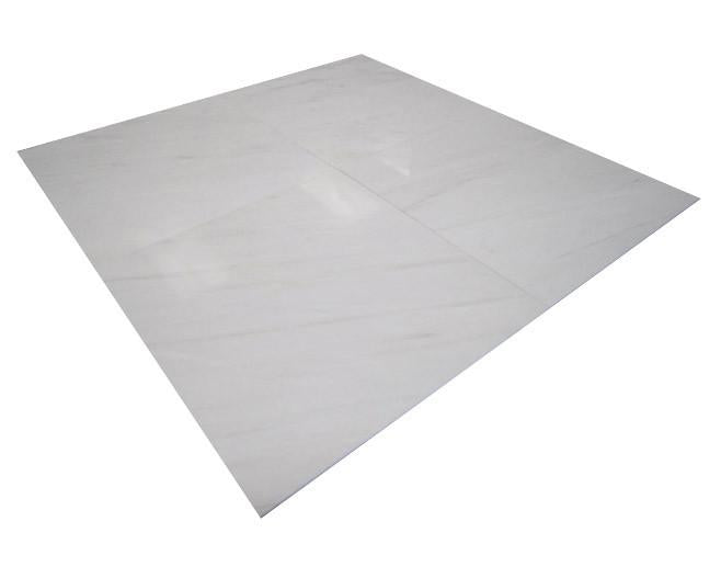 Bianco Dolomiti Marble Italian White Dolomite 18x18 Marble Tile Polished for Bathroom and Kitchen Walls Kitchen Backsplashes