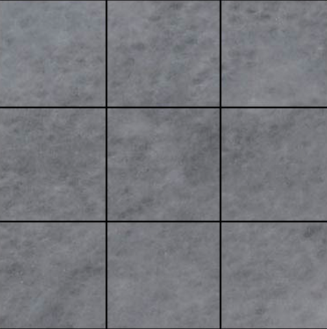 Bardiglio Gray Marble 4x4 Marble Tile Polished