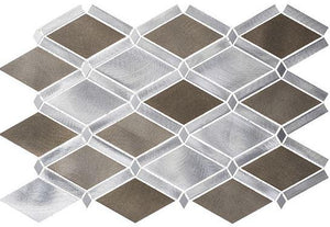 Glazzio Tiles Jupiter Chrome (Aluminum) FGS227