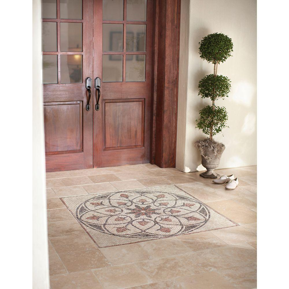 MS International Tuscany Beige 12 in. x 12 in. Honed Travertine Floor and Wall Tile