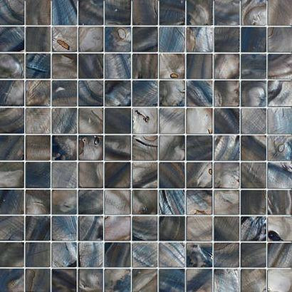 Dark Brown Mother of Pearl Mosaic Tiles