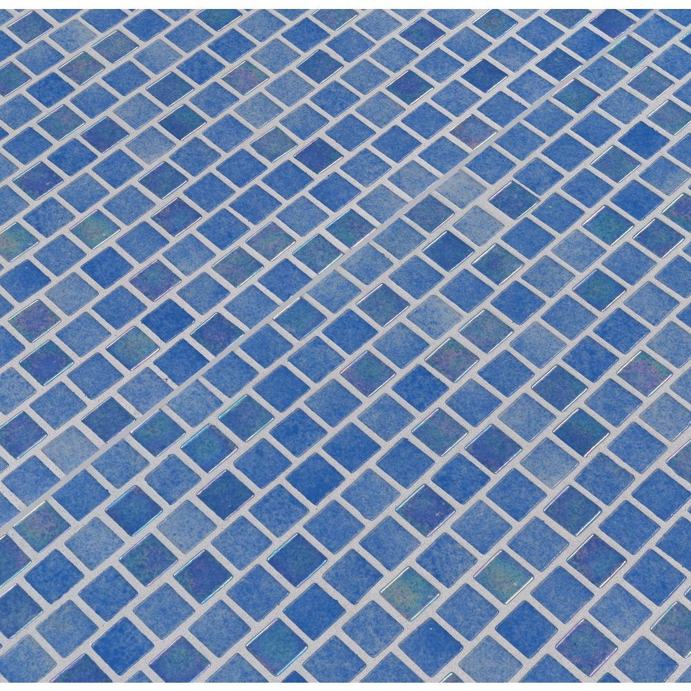 MSI Hawaiian Beach 11.81 in. x 11.81 in. x 4mm Glass Mesh-Mounted Mosaic Tile (19.4 sq. ft. / case)