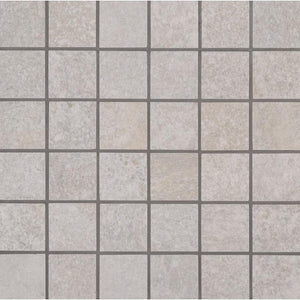 MSI Brixstyle Blanco 12 in. x 12 in. x 10mm Glazed Porcelain Mesh-Mounted Mosaic Tile (6 sq. ft. / Case)