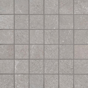 MSI Brixstyle Glacier 12 in. x 12 in. x 10mm Glazed Porcelain Mesh-Mounted Mosaic Tile