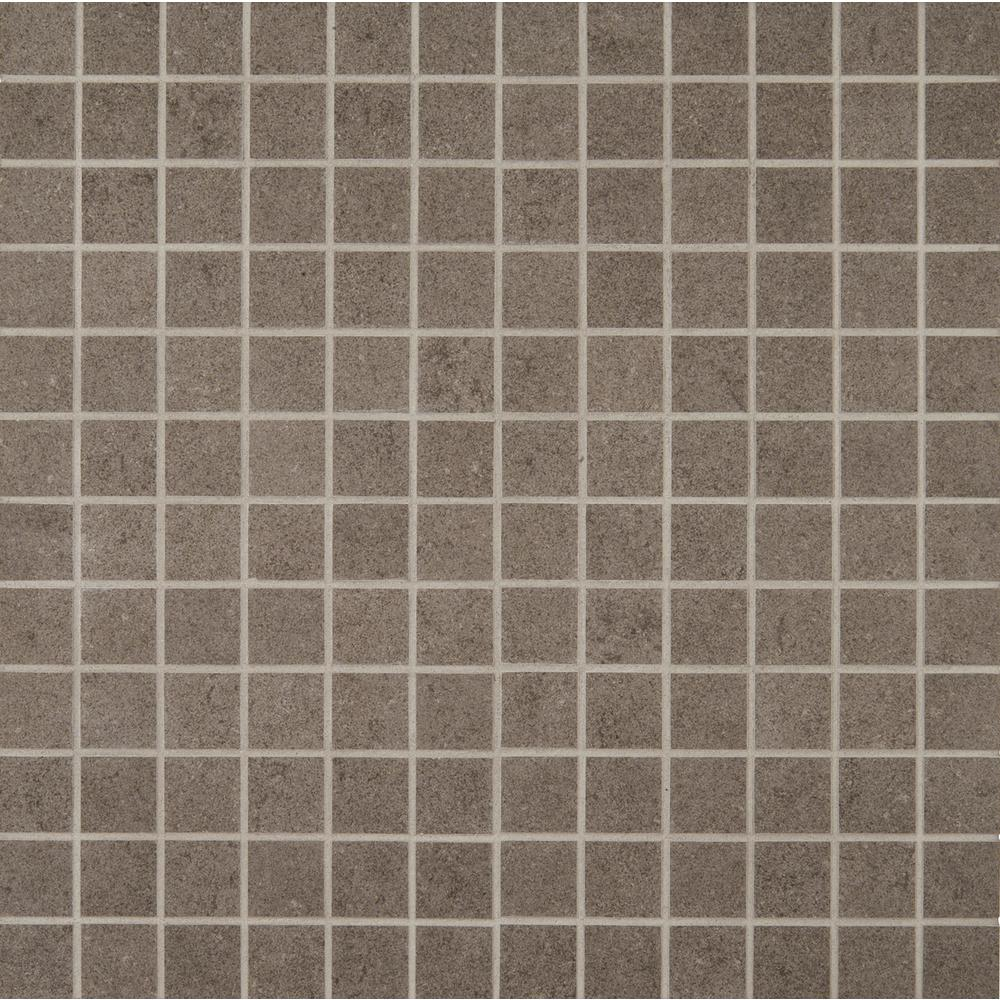 MSI Beton Concrete 12 in. x 12 in. x 10 mm Porcelain Mesh-Mounted Mosaic Tile (8 sq. ft. / case)