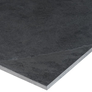 MS International Montauk Black 12 in. x 24 in. Gauged Slate Floor and Wall Tile (10 sq. ft. / case)