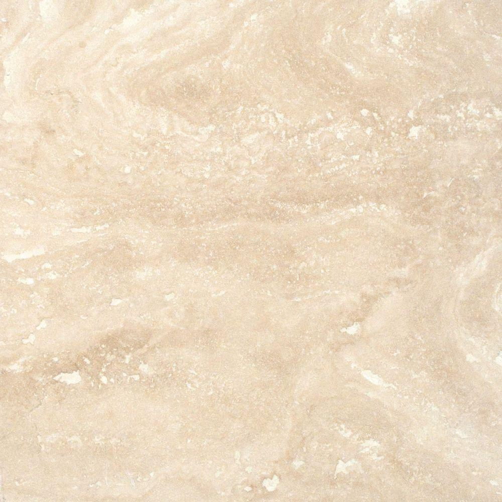 MS International Tuscany Ivory 18 in. x 18 in. Honed Travertine Floor and Wall Tile (9 sq. ft. / case)