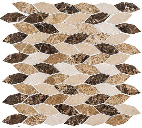 Glazzio Tiles Rock Haven (Long Hex) CLNL283