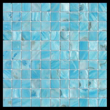 Premium Quality Turquoise Ocean Blue Mother Pearl Sea Shell Mosaic Tile Stone Mosaics