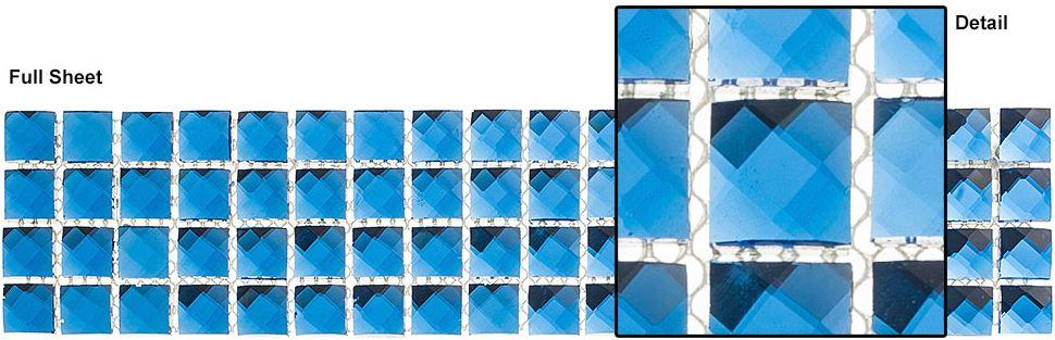 "Glazzio Tiles Twilight Treasure (5/8""x5/8"") KS449"