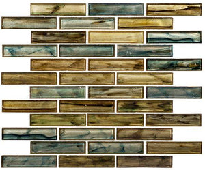 Glazzio Tiles Nautical Garden (1x4 Random Brick)  OCS174