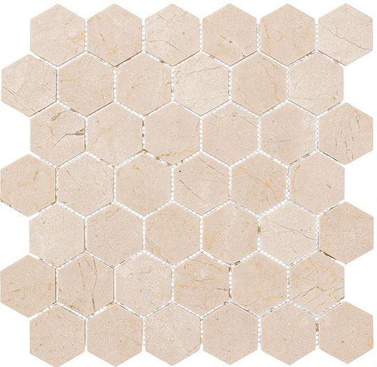 "GT Tiles Village Square (2"" Hex) CLNL279  Glazzio Tiles"