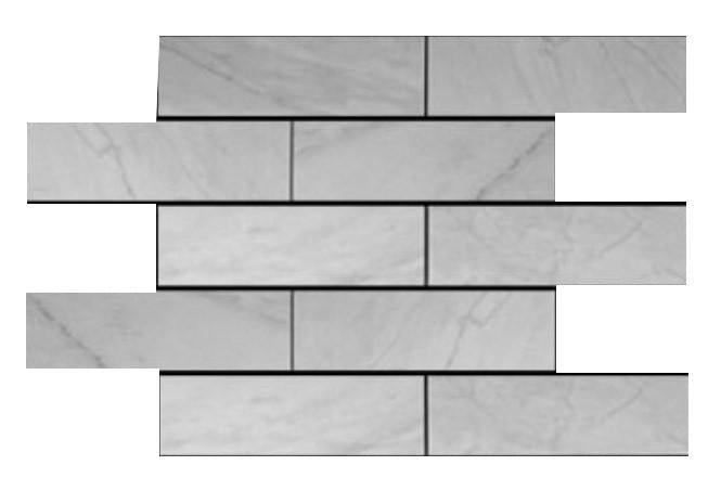 Carrara Marble Italian White Bianco Carrera 4x12 Marble Tile Honed