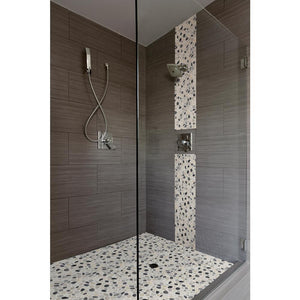 MS International Metro Charcoal 12 in. x 24 in. Glazed Porcelain Floor and Wall Tile (16 sq. ft. / case)